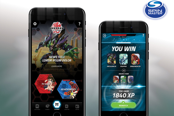 UX Design: Bakugan Hub & Game App