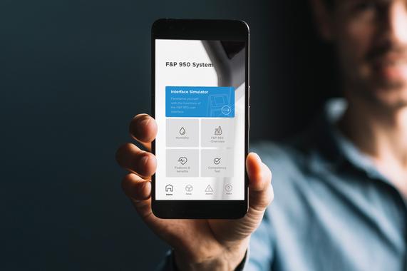 F&P 950 App