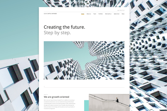 S.A.W. Capital Web Redesign