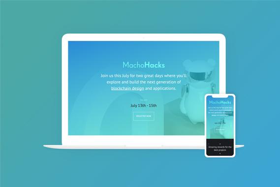 Hackathon Landing Page Design