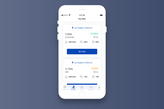 Lendico | Mobile App for Lenders and Borrowers