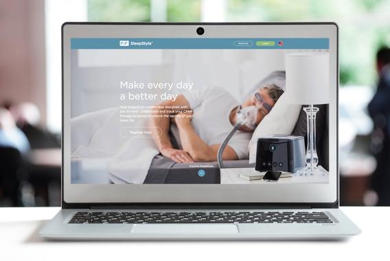 SleepStyle Website