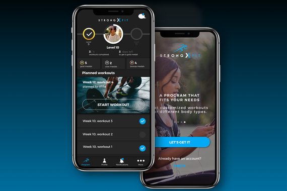 Strong Fitness – Personal Training App
