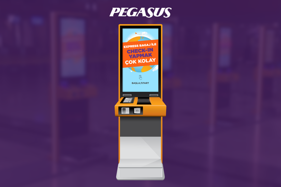 Pegasus Airlines Self-service Kiosks
