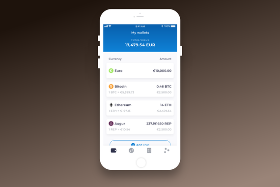 Kriptomat | Cryptocurrency Mobile App