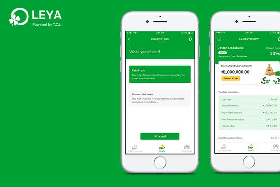 Leya - (Portfolio Management Mobile App)