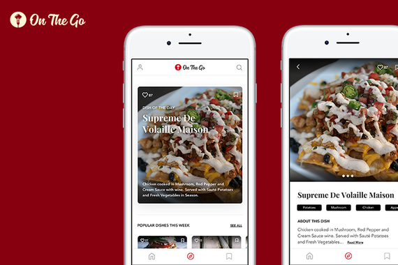 On The Go - (Restaurant Recommendations Mobile App) (iOS)