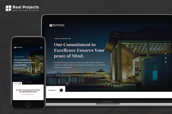 Real Projects LTD - (Responsive Website Design)