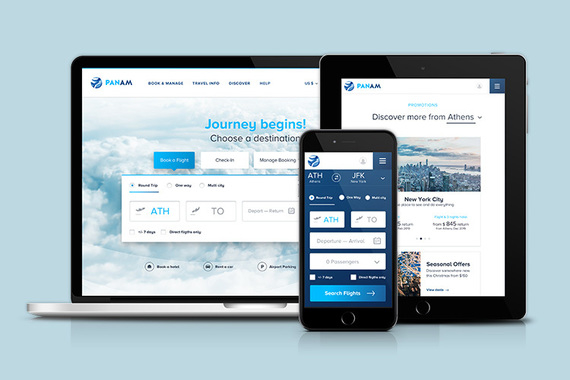 Flight Search and Booking Responsive Website