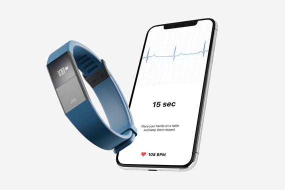 ECG Wearable: Device + App