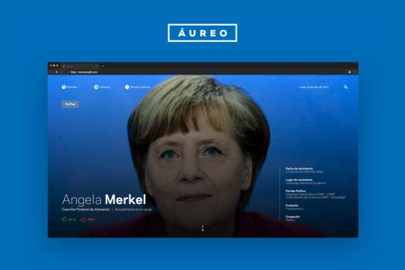 Áureo | Website UX/UI for a Digital Newspaper