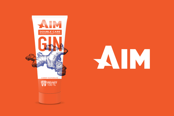 AIM | New Look for a Toothpaste Company