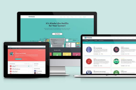 Coding eLearning Responsive Website