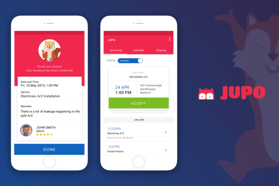 Jupo — Connecting People to Handymen