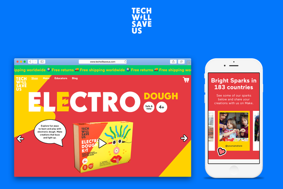 A Fun, High-performing eCommerce Platform for Tech Will Save Us