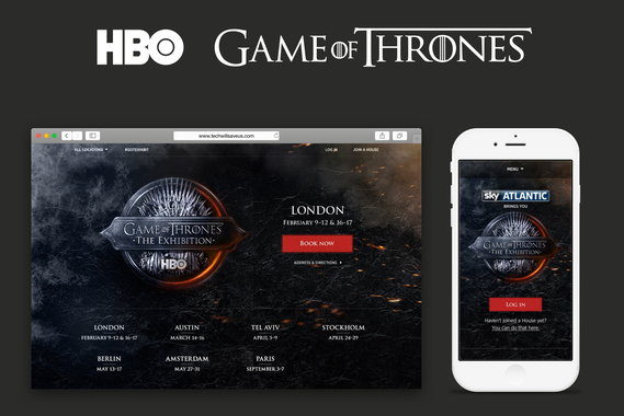 An Event Experience for Game of Thrones