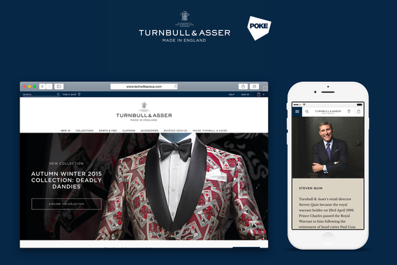 A Refined, Online Retail Experience for Turnbull & Asser