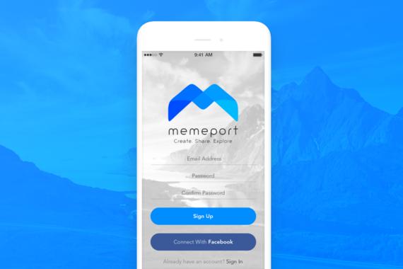MemePort iOS App