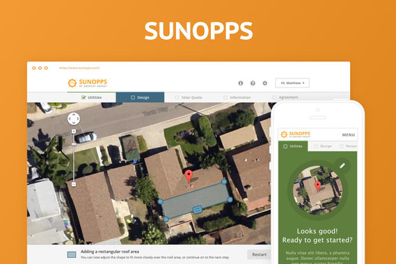 SunOpps Responsive WebApp