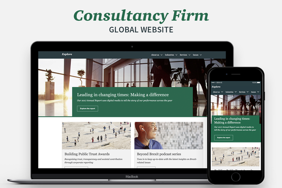 Big Four Consultancy Firm | Global Website