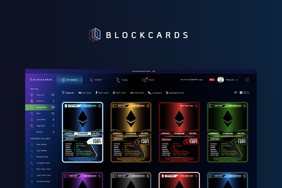 Blockcards - A DApp Blockchain Virtual Game