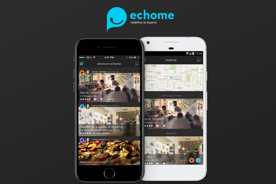 Echome | Mobile App for Food Lovers