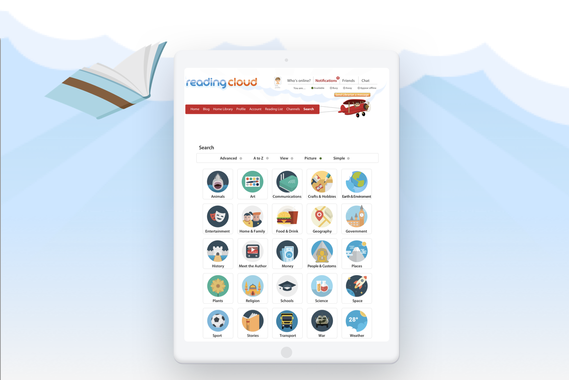 The Reading Cloud - Encouraging Reading and Collaboration in Students