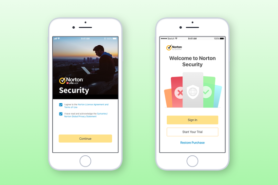 In-app Purchase for Norton Security