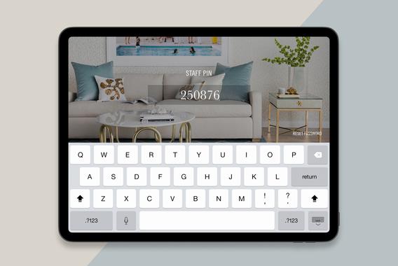 Coco Republic In-store Sales App
