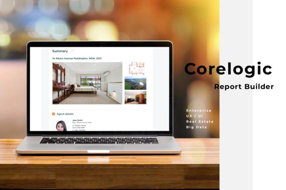 CoreLogic Property Report Builder