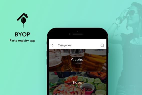 BYOP | Party Registry App