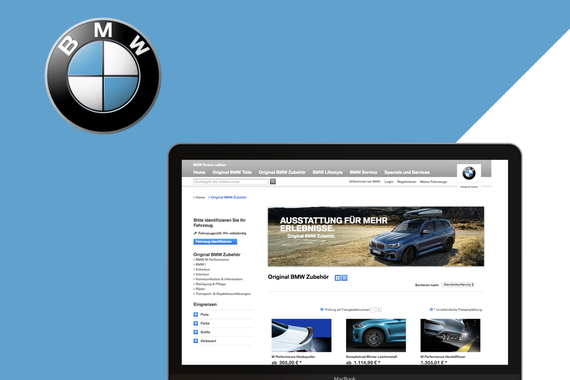 BMW Global Search and Accessories Finder