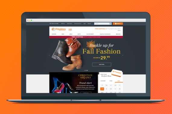 Payless eCommerce Website