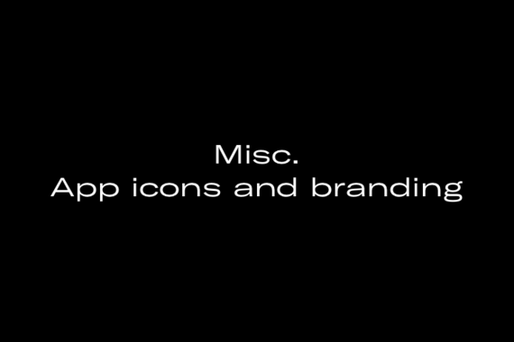 Miscellaneous App Icons and Branding