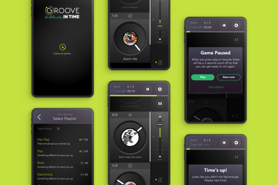 Groove-in-Time
