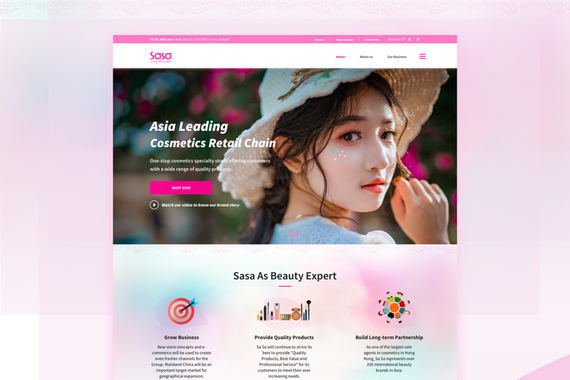 Sasa | Website Design