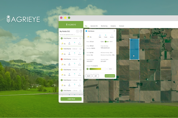 Agrieye - AI Web Service for Precision Farming