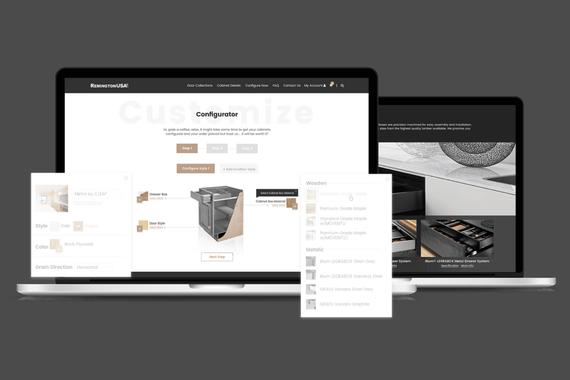 Remington: Luxury Kitchen Furniture
