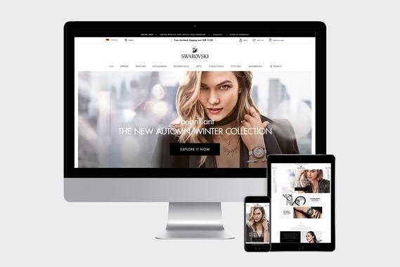 Swarovski.com - Global eCommerce Platform