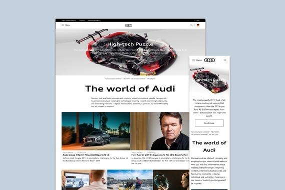 Audi.com - Global Brand Portal