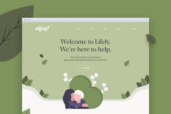 Lifely Website and Branding