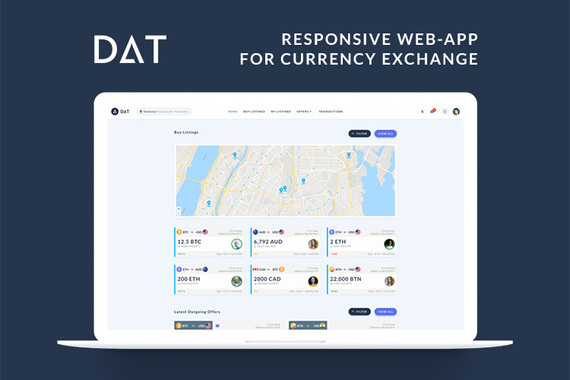DAT App | Currency Exchange Application