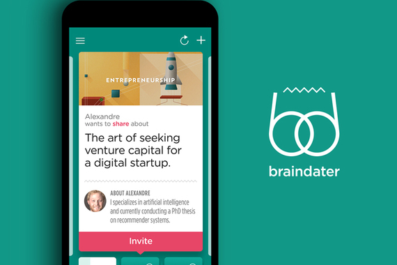 Braindater — iOS App for Events