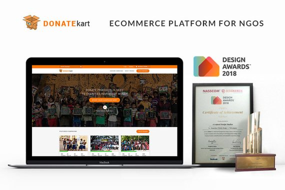 Donatekart | UX, UI, and Front End