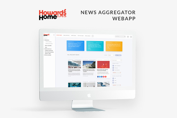 Howard's Home | News Aggregator Portal