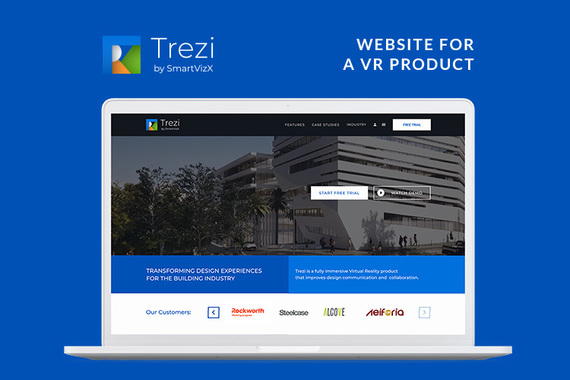 Trezi | VR Product Website