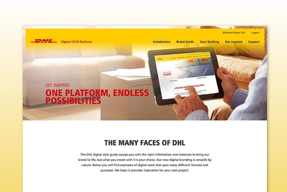 DHL - Digital Style Guide