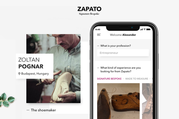 Mobile App for 3D-aided Bespoke Shoemaking