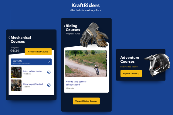 Motorcycle App | Holistic Riding