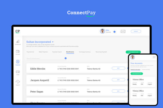 ConnectPay—UX and UI Design